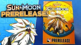 Pokemon SUN & MOON Prerelease Kit Opening with 4 Sun & Moon Booster Packs! by ThePokeCapital
