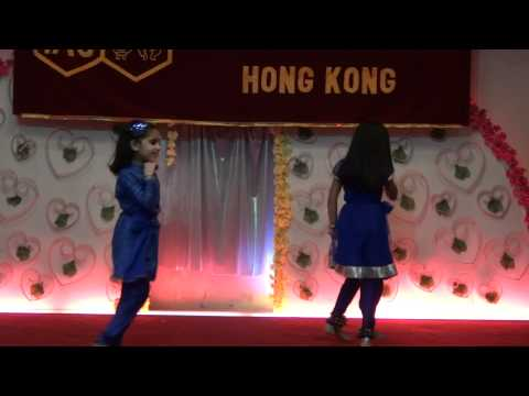 Bal Avishkar Group - 12th Febuary Talent Show Performed by: 4 year old Brinda Jain in (full sleeve) and Anusha.