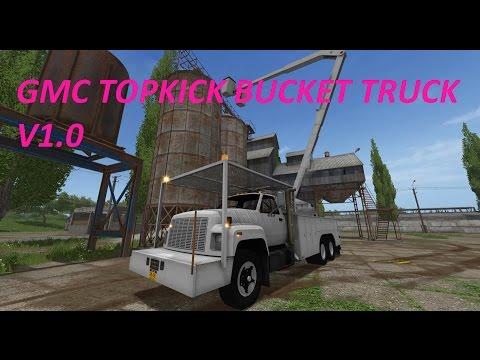 GMC TopKick Bucket Truck v1.0