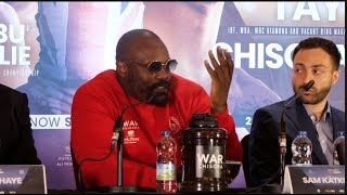 WOW! DEREK CHISORA ABSOLUTELY LOSES THE PLOT IN ATTACK AGAINST EDDIE HEARN, ADAM SMITH & KALLE!
