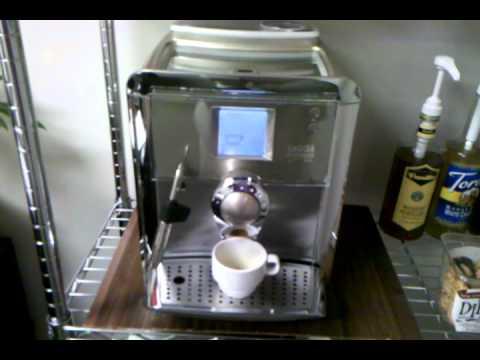 Gaggia Platinum Vision espresso shot