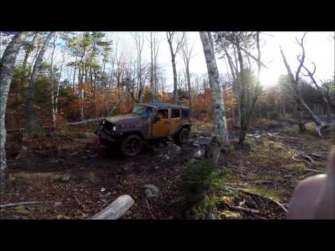Jeeping in Meteghan, Nova Scotia