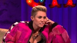 Miley Cyrus On Alan Carr Chattyman 13/09/13 Part 1