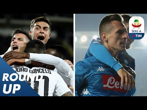 Juventus Stays At Top Of The Table, Napoli Late Winner Thanks To Milik | Round Up 14 | Serie A