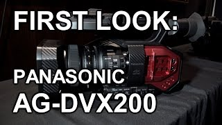 "We were amongst a small group of bloggers invited to a Panasonic event at central London to show off and have a quick preview of the new AG-DVX200.It's a ""run and gun"" 4K camcorder with a micro 4/3rds sensor but a fixed (13x) lens. So it's a sort of ENG camcorder for 4K.It does also feature V-Log and CineLike gamma profiles though, so coupled with the sensor you can get quite cinematic with it.We had about half an hour to go out on the streets and test it out, so it's a bit of an overview rather than a full review but we hope to get our hands on the final unit for a few days soon.Published by www.tubeshooter.co.ukwww.twitter.com/tubeshootermagwww.facebook.com/tubeshootermag"