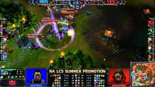 YoshiYo et Spam LCS NA - MRN vs VES - Game 5