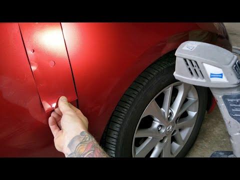 Colour Matching Automotive Paint