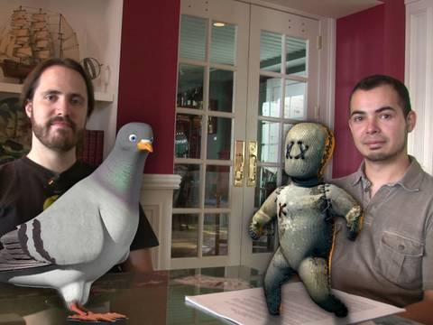 0 A conversation between animators Lucas Martell and Joaquin Baldwin