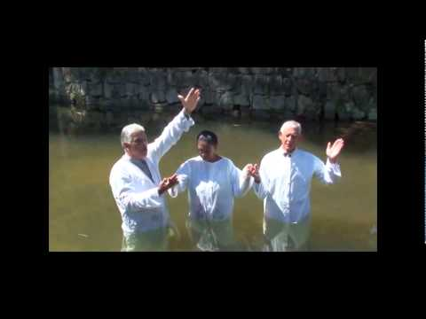 3º batismo na Igreja em Capivari em Obra de Restauração