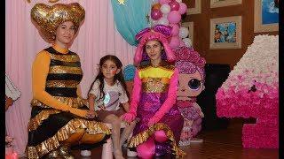День Рождения Софии 4 года в стиле  ЛОЛ в ПОДАРОК Куклы LOL игрушки для детей