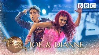 Joe Sugg & Dianne Buswell dance the Jive to Take On Me by A-Ha - BBC Strictly 2018