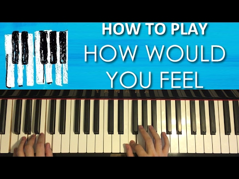 HOW TO PLAY - Ed Sheeran - How Would You Feel (Piano Tutorial Lesson) #HowWouldYouFeel