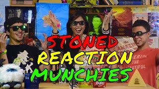 SMOKE WITH US! @charmazingg & STONED REACTION MUNCHIES (long video) by Take a Break with Aaron & Mo