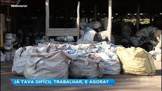 Bauru: Polícia Civil investiga incêndio em cooperativa de reciclagem