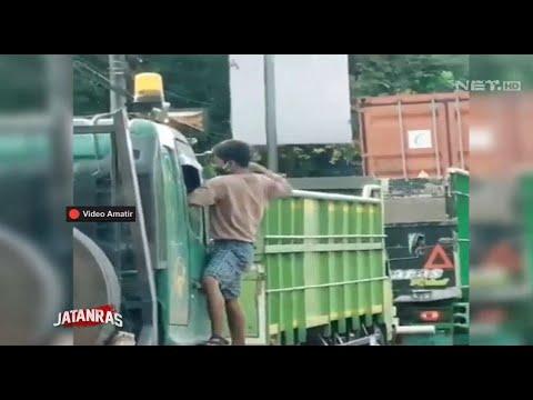 Polisi Tangkap Pemalak Truk yang Nekat - JATANRAS