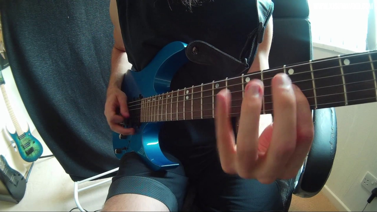Guitar Tone Test: Ibanez RG870Z & Blue Yeti