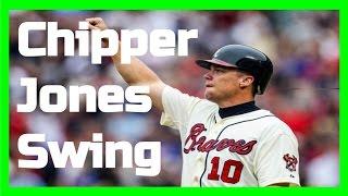 Chipper Jones | Swing Like the Greats
