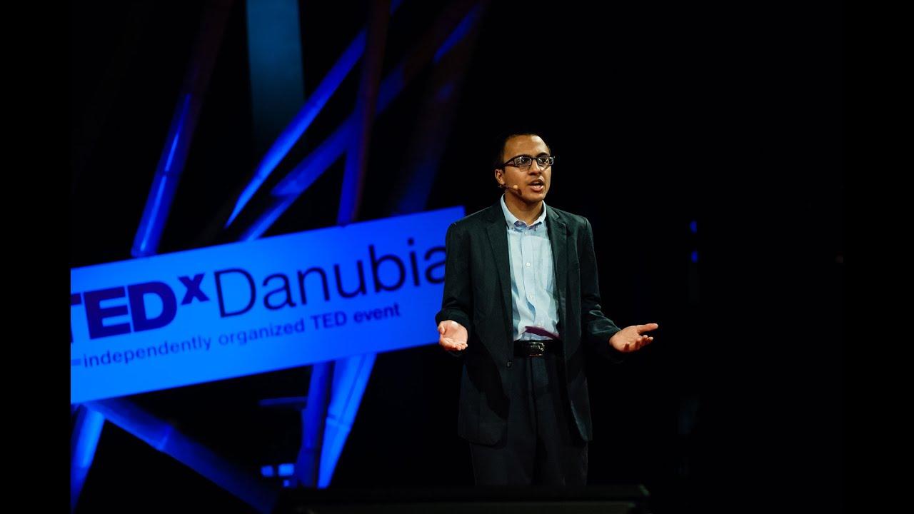 Nikhil Goyal at TEDxDanubia in Budapest