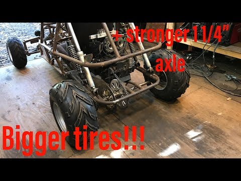 finishing the GS500 dune buggy part 1