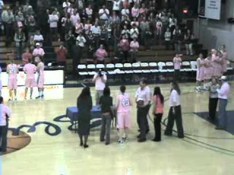 Women's Basketball - 2011 Senior Night Presentation