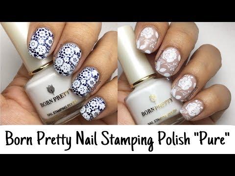 Diseños de uñas - Probando el Tono Blanco
