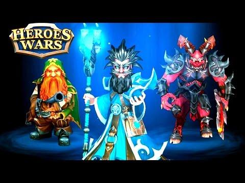 Heroes Wars Summoners RPG gameplay