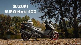 4. Suzuki - Burgman 400 ABS (2018)