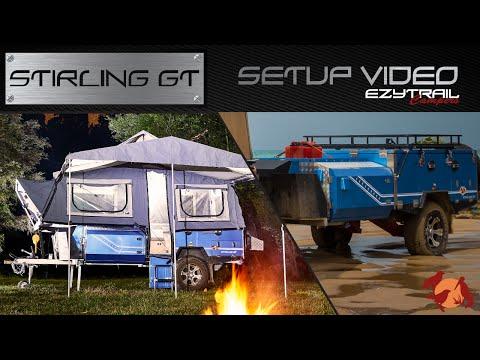 Ezytrail Campers Stirling GT Setup Guide