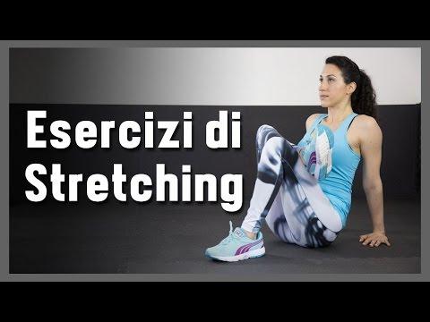 Routine di stretching pre e post workout