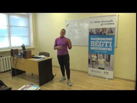 Pirmasis Nestle pasrengimo bėgti seminaras Kaune