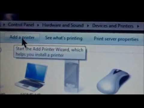 how to attach epson printer to computer