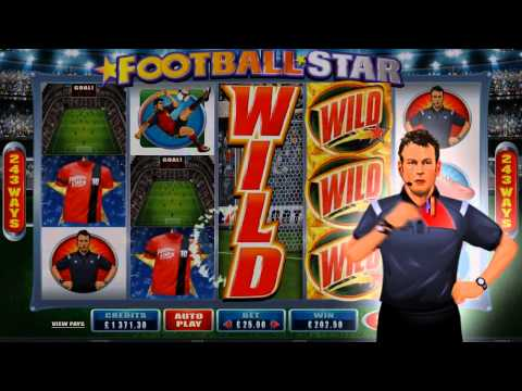 Football Star Video Slot Game Promo