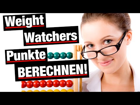 weight watchers punktetabelle}