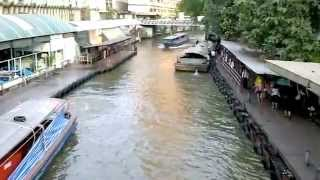 バンコク市内観光セーンセーブ運河