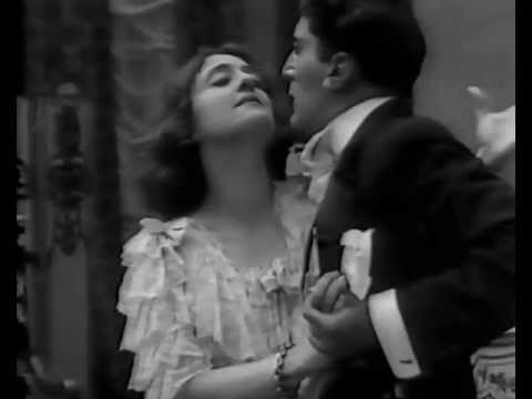 "Lyda Borelli, 1913. Angela Gheorghiu,""Se tu m'ami"" (Pergolesi),1997. видео"
