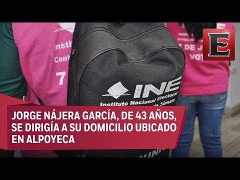Matan a balazos a capacitador del INE en Guerrero
