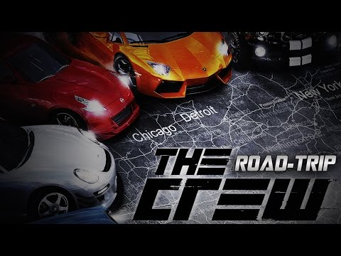road trip - Check out The Crew for yourself and learn more about the beta here! - http://bit.ly/1nylK4M Myself and Diction go on a road trip in The Crew beta driving from Detroit all the way to San Francisco...
