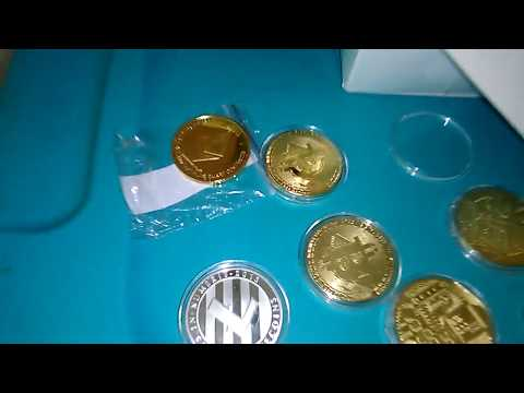 Bitcoin - Ethereum - Litecoin. Physical Coins From Ebay