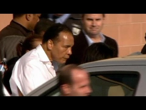 Great - Boxing great Muhammad Ali has been admitted to hospital with a mild case of pneumonia, his spokesman says. Bob Gunnell issued a statement saying the 72-year-old