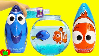 Video Finding Dory, Nemo, and Squirt Swimmers in Orbeez with Mashems Surprises MP3, 3GP, MP4, WEBM, AVI, FLV September 2018