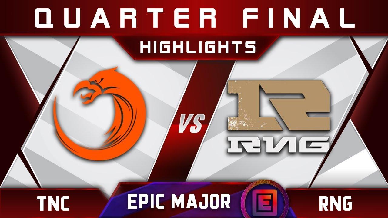 TNC vs RNG [EPIC] Quarter Final EPICENTER Major 2019 Highlights Dota 2 - YouTube