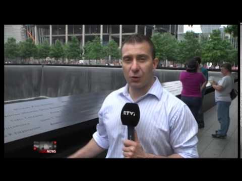 Мемориал памяти жертвам терактов 11 сентября (видео)