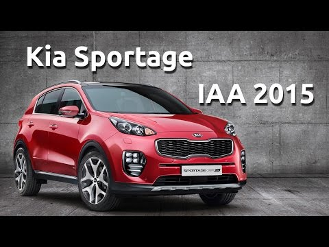 Kia Optima & Sportage IAA 2015 Full Press conference