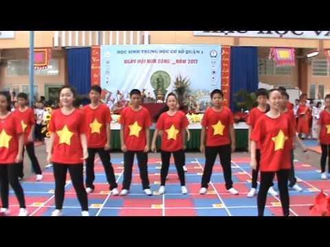 """"""" Tôi yêu Việt Nam """" Võ Trường Toản Flashmob"""