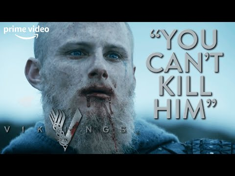 Bjorn Goes Into Battle One Last Time | Vikings | Prime Video