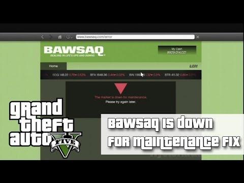 comment debloquer bawsaq gta v