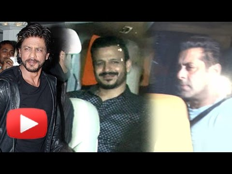 Salman Khan Parties With Shah Rukh Khan In Mannat