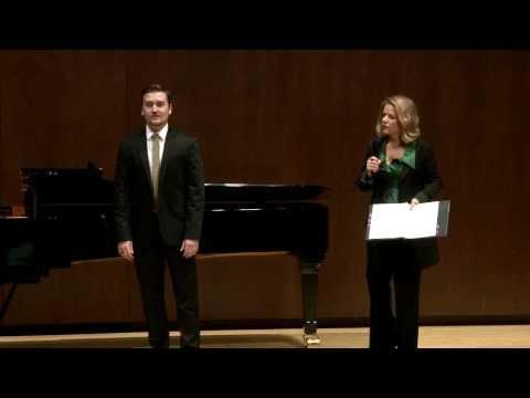2014 Renée Fleming Master Class: Miles Mykkanen and Dimitri Dover