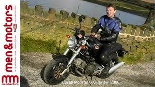 7. Ducati Monster 600 Review (2000)