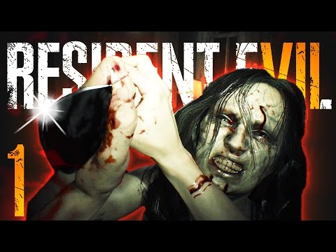 WELCOME TO THE FAMILY!! | Resident Evil 7 - Part 1 (видео)